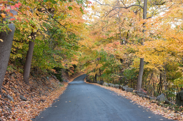Henry Hudson Drive is a 7-mile stretch of pure scenic bliss, especially in the fall.