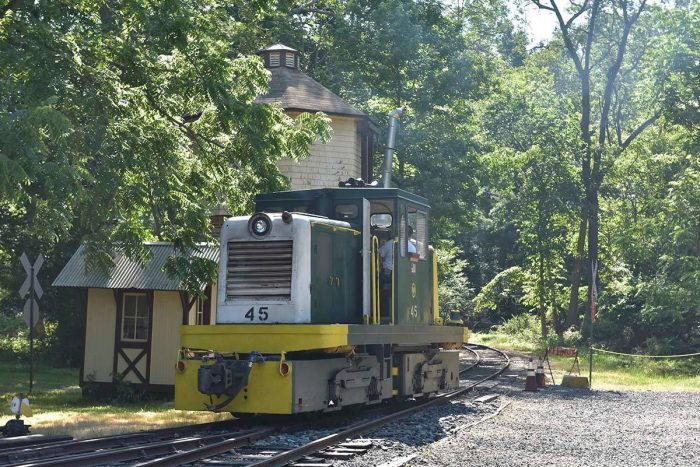 The New Jersey Museum of Transportation operates the Pine Creek Railroad out of Allaire State Park in Wall.