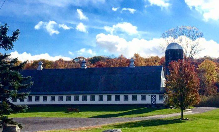 Perona Farms is a popular wedding venue in  Andover, New Jersey.