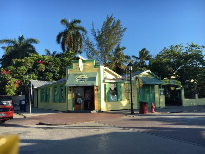 2. Chocolate covered frozen key lime pie from Kermit's Key West Key Lime Shoppe