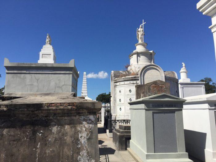 3) St. Louis Cemetery No. 1, 425 Basin St.