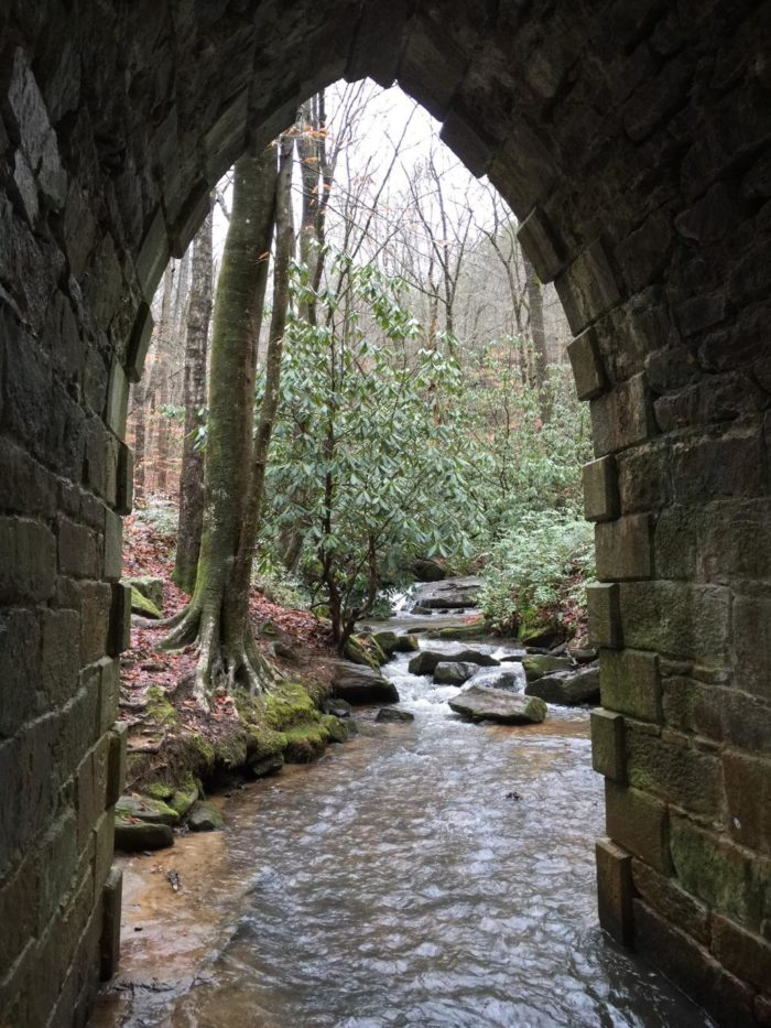 Located only a few miles from the Cherokee Foothills Scenic Highway on Callahan Mountain Road, Poinsett Bridge and the road getting here make this the perfect place to steal away for some peace and quiet.