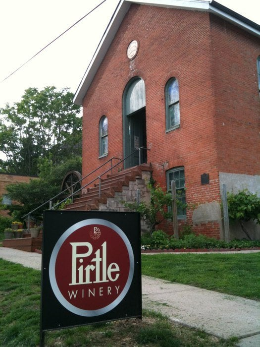 Have a wine tasting at Pirtle Winery.