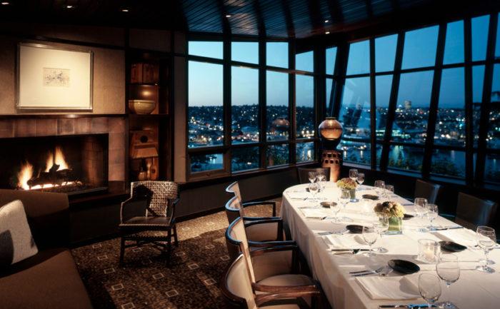 Canlis restaurant in seattle washington has the best - Restaurant interior design seattle ...