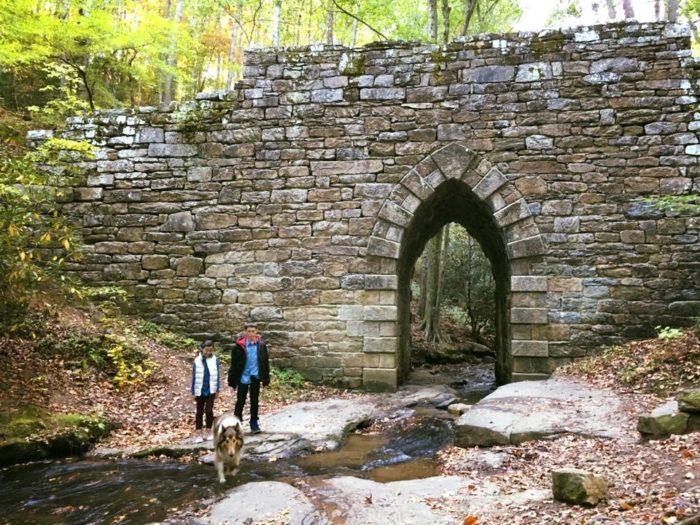...an unforgettable stone bridge built 196 years ago in 1820!