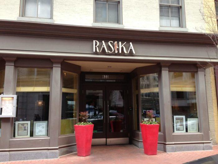 6. Rasika - 633 D St NW