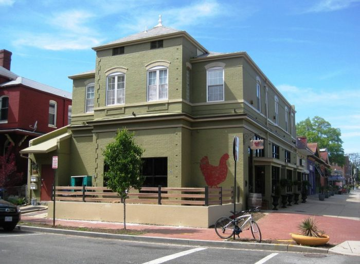 10. The Red Hen - 1822 1st St NW