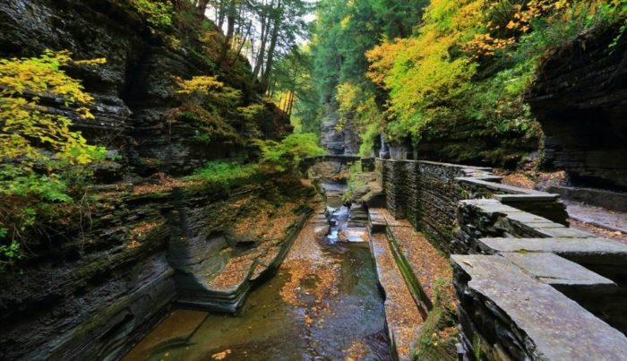 1. First up, the waterfalls of Robert H. Treman State Park!