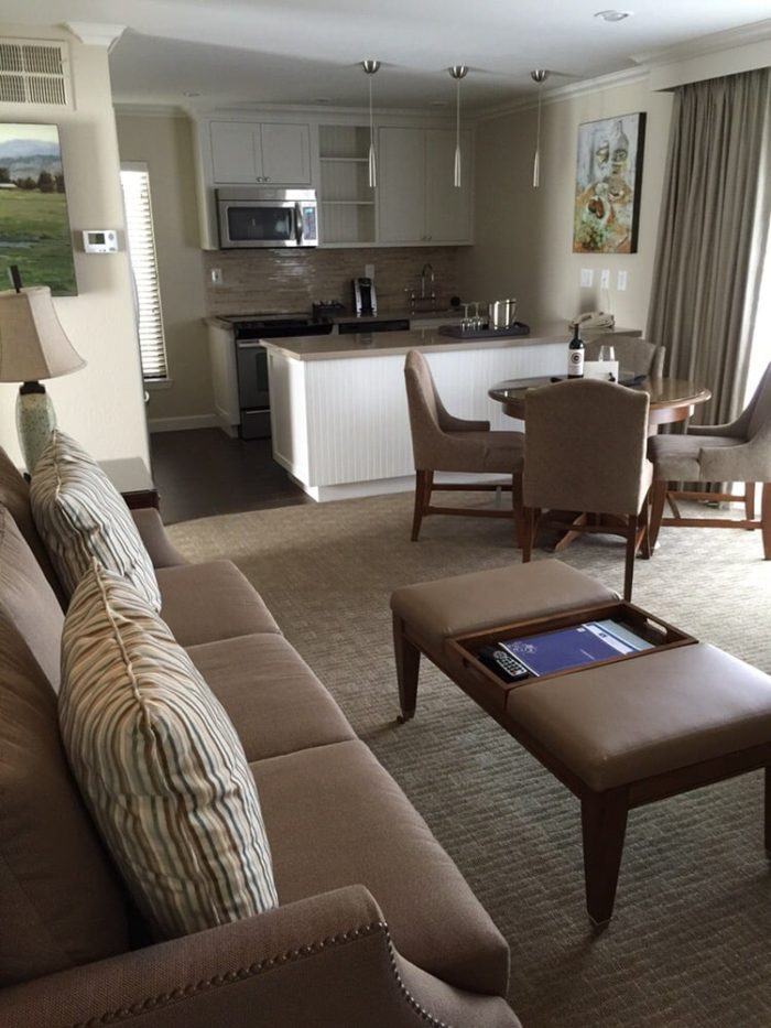 Depending on your budget, Silverado guests can choose from four distinct neighborhoods, each offering Premium and Deluxe guest rooms. Also, a wide variety of amenities, incredible farm-to-table dining, lush greenery, gardens, relaxing spa and more are available at Silverado Resort and Spa.