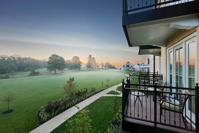 Each guest room has its own private outdoor space allowing you to enjoy the beautiful scenery right outside your room.