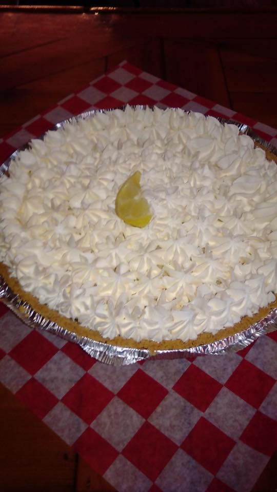 And those pies are simply to die for. There's key lime...