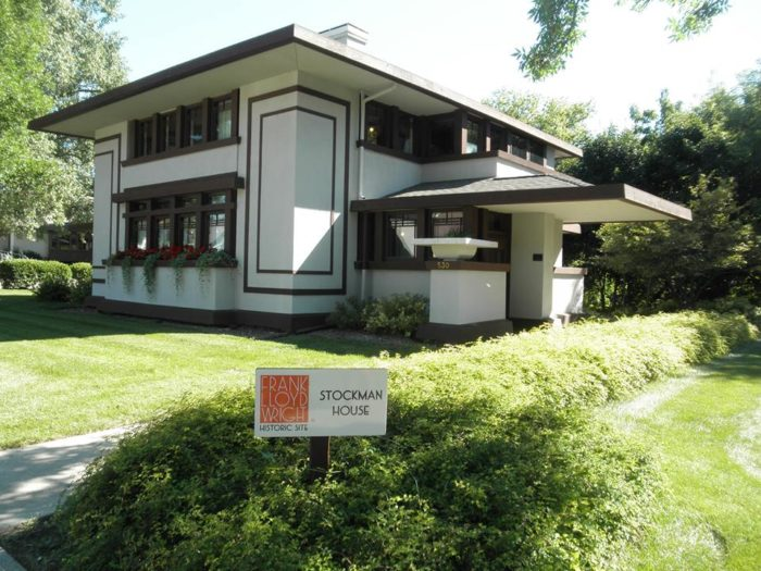 For more Frank Lloyd Wright architecture, make sure to pay a visit to the Stockman House Museum. The house was designed by Frank Lloyd Wright and was built in 1908.