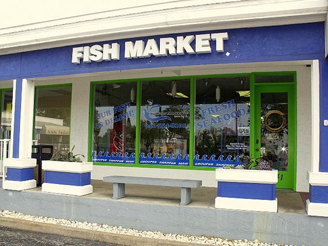 4. Big Water Fish Market, Sarasota