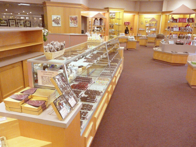 After your tour, be sure to stop inside the shop, as you'll likely be craving some sort of chocolate treat...