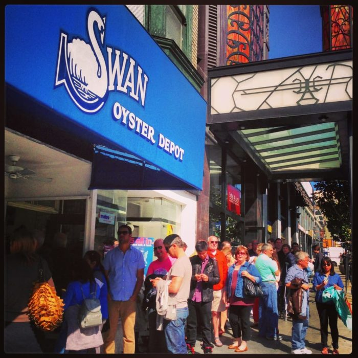 8. Swans Oyster Depot: 1517 Polk Street