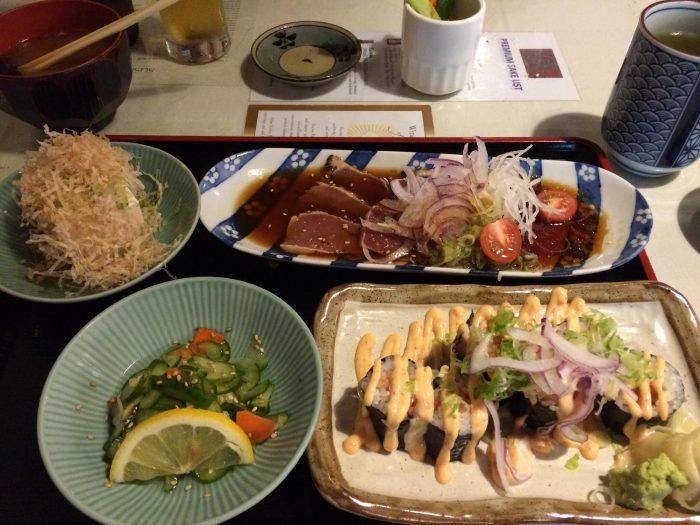 tataki-and-roll-combo