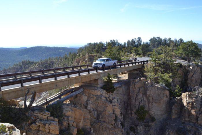 3. Hell's Backbone Road/Bridge, In Between Escalante And Boulder