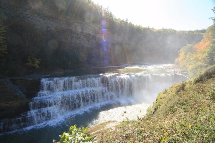 Not to be forgotten, Lower Falls is the last major waterfall you'll see along the Gorge Trail.