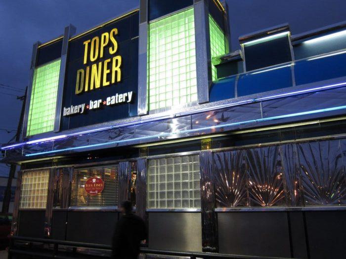 10. Tops Diner, 500 Passaic Avenue, East Newark