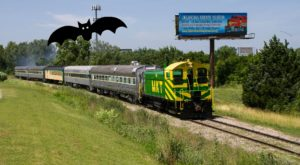 The Haunted Train Ride Through Oklahoma That Will Delight You In The Best Way Possible