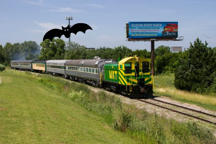 The Oklahoma Railway Museum is a free museum open year-round to visitors. Train rides are offered April- August on select Saturdays for a fee.