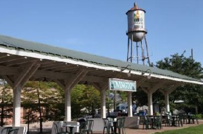 Tammany Trace spurs at downtown Covington, and then snakes through a variety of Northshore towns.