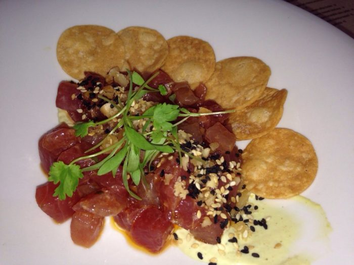 If you're not sure what to order, start with the tuna poke - a reviewer favorite.