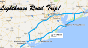 The Lighthouse Roadtrip On The Texas Coast That's Dreamily Beautiful