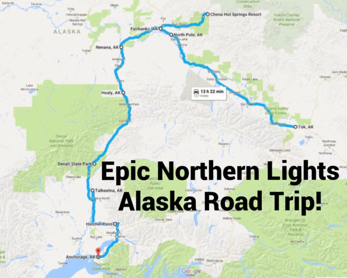 This Road Trip Takes You To The Best Places To See The