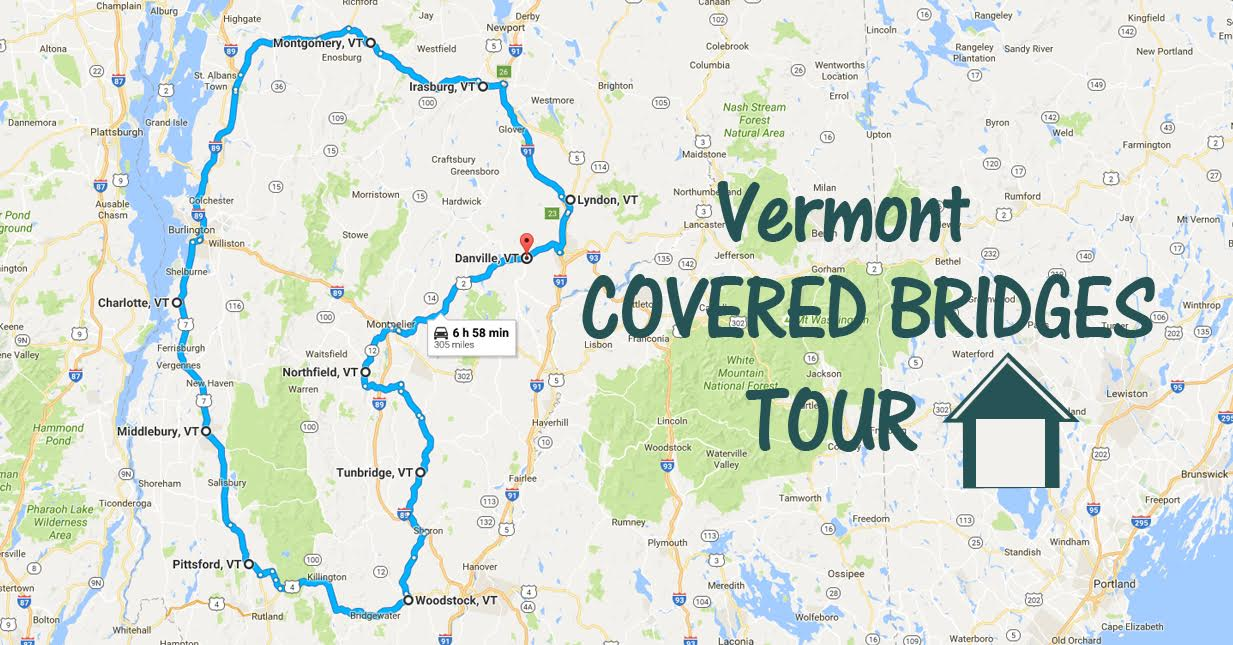 There39s A Covered Bridge Tour In Vermont And It39s