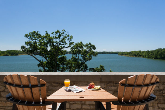 It's a truly relaxing place to stay, no matter the season. Unplug, kick back and enjoy the views.