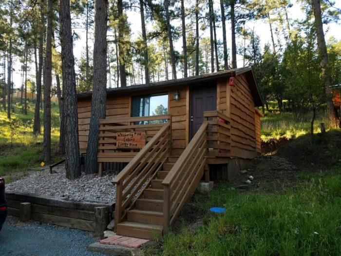 4. Whispering Pine Cabins, Ruidoso