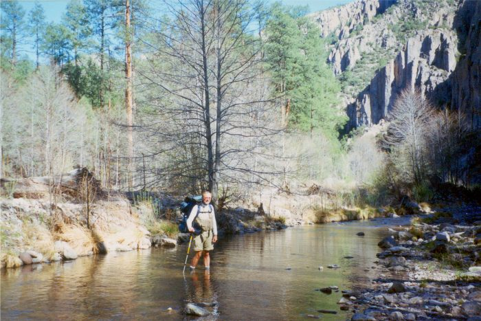 However, you don't have to climb mountains to enjoy the Gila Wilderness. There are several easier trails. Many involve river crossings, so bring water shoes or at least a change of shoes.