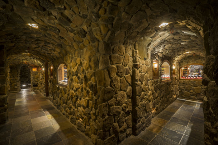 After you've spent a small fortune on mouthwatering cuisine, you can enjoy free tours of the wine cellar - held daily at 3 p.m.