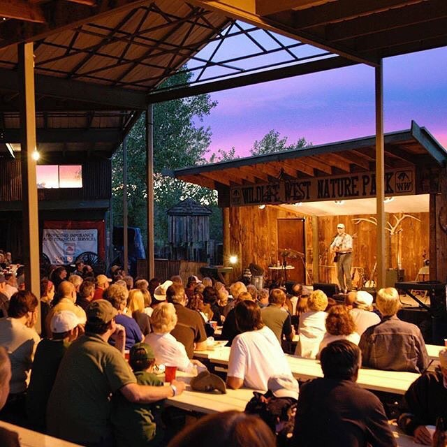 On Saturdays, during the summer, chuckwagon dinners take place at Wildlife West.