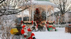 The One Town Near Pittsburgh That Turns Into A Winter Wonderland Each Year