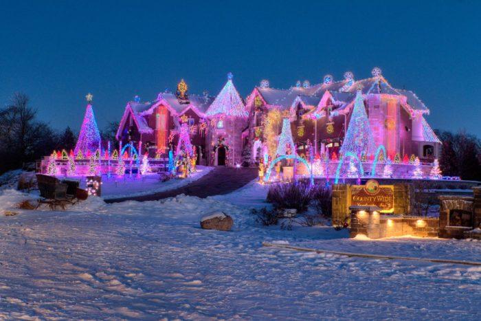 Christmas Lights Drive Through