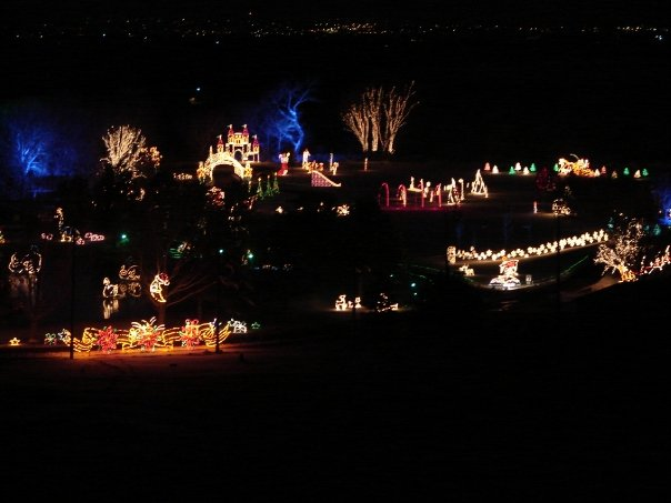 14 best christmas light displays in utah 2016 - Willard Bay Christmas Lights