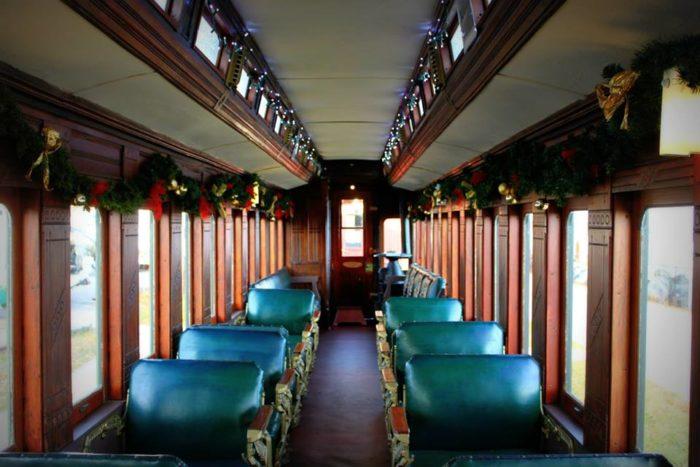 Maine Polar Express Train Ride  Maine Narrow Gauge