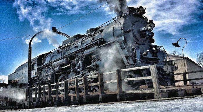 All Aboard! Real-Life Polar Express Chugs Through Michigan : NPR