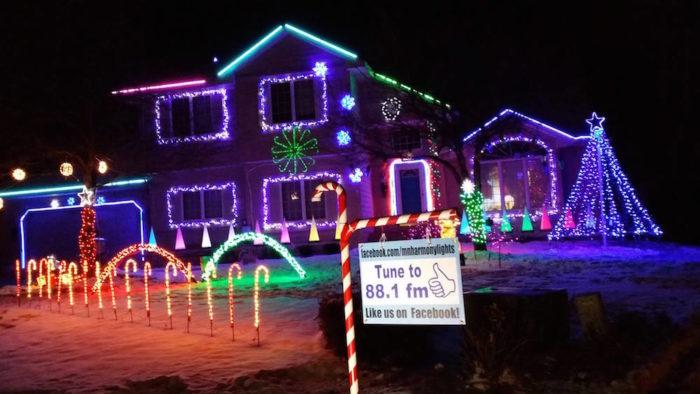 Synchronized Christmas Light Display