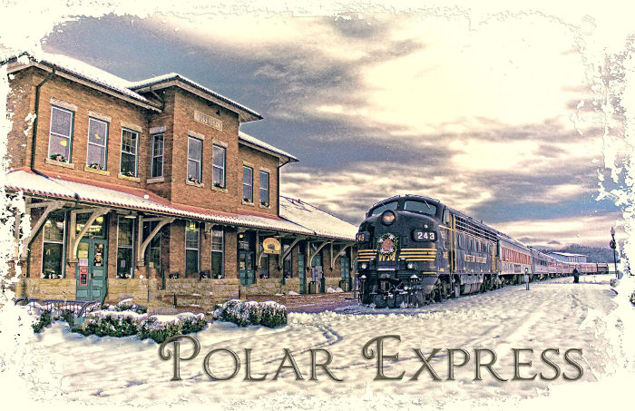 Christmas Train Pajamas