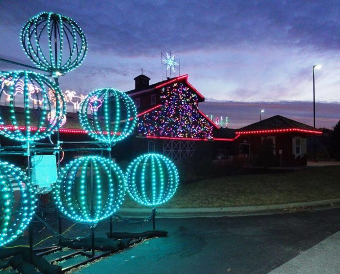 Captivating Holiday Lights On Farmstead Lane (13800 Switzer Rd. Overland Park). Friends  Of Deanna Rose ...