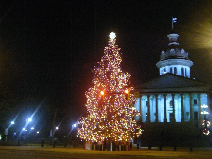 Swing Through The Capital City To See The Stateu0027s Official Christmas Tree.