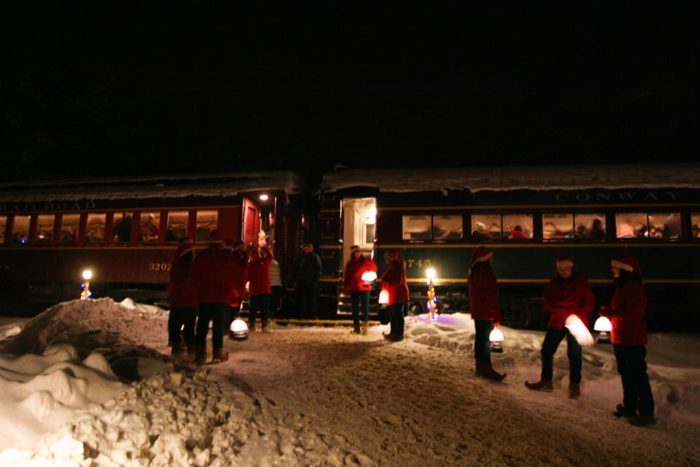 The Magical Polar Express Train Ride In New Hampshire