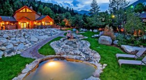 This Little Known Hot Springs Resort Near Denver Is The Perfect Place To Get Away From It All