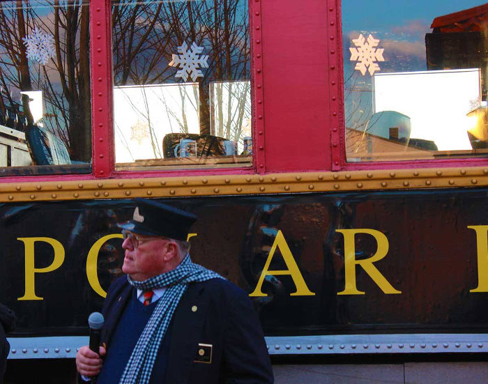 Take The Polar Express Christmas Train Ride At Elkins