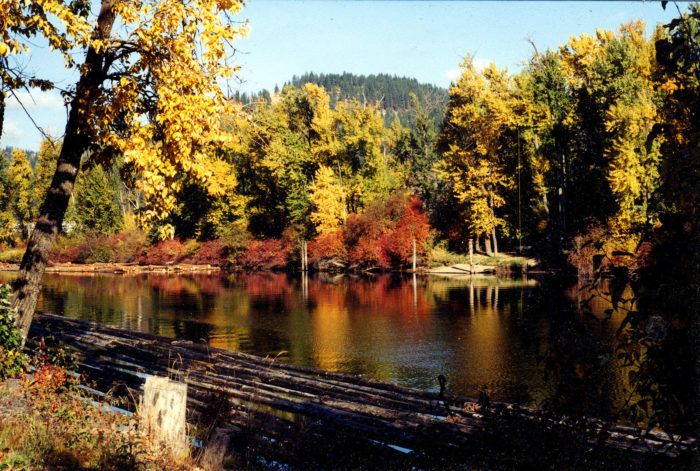 Places to see in Idaho - The St. Joe River