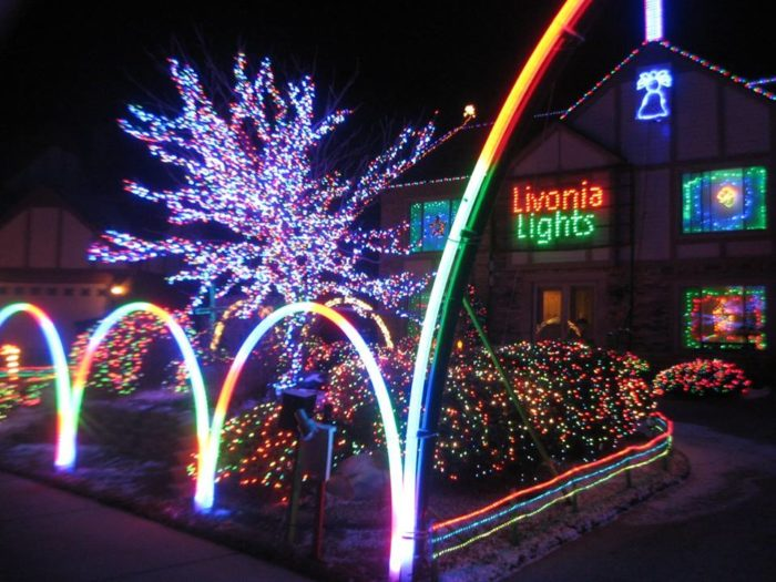 Fifth Third Ballpark Christmas Lights