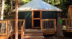 This Glamping Retreat In Maine Is What Dreams Are Made Of
